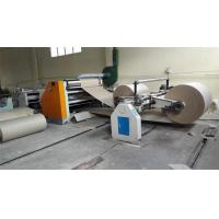Buy cheap 2 Ply 3 Ply Corrugated Box Making Machine / Corrugated Paperboard Production Line from wholesalers