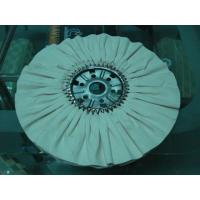 Buy cheap Buffing/polishing cloth/wheel with steel wing for rotogravure cylinder making from wholesalers