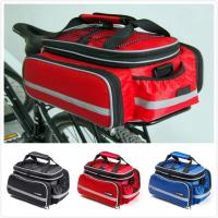 Buy cheap Rear Rack Bike Trunk Bag Double Side , Hand Luggage Bags For Short Trip Vehicle Carrying from wholesalers