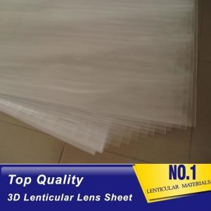 Buy cheap 100lpi 0.58mm PET lenticular sheet  lens plastic film lenticular printing sheet lenticular sheet importer in usa product
