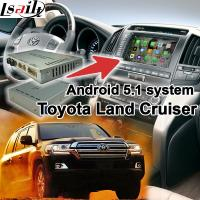 Buy cheap Toyota Land Cruiser LC100 LC200 Android Navigation Video Interface Upgrade Touch Navigation WIFI from Wholesalers
