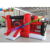 Buy cheap Customized Race Inflatable Jumping House , Mini Bouncing Castle For Kids from wholesalers