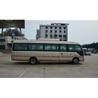 Mudan Golden City Tour Bus , Diesel Engine 25Seater Minibus Semi - Integral Body