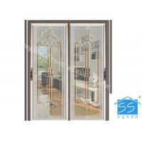 Buy cheap Bevel Clear Sliding French Patio Doors , Safety French Glass Sliding Patio Doors from wholesalers