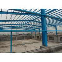 Buy cheap Painting High Rise Structural Steel Plant , Workshop Pre Engineered Steel Buildings from Wholesalers