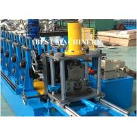 Buy cheap Pallet Storage Rack Upright Shelf Profile Roll Forming Machine For Supermarket from wholesalers