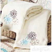Buy cheap OEM Customized 100% Cotton Hand Wash Towels , 30*60cm Eco-friendly from wholesalers