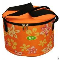 Buy cheap Round Insulated Lunch Bag Outdoor Round Cooler Bag product