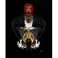 Buy cheap Professional Vector art Shriners Photo for Digital Embroiderers, Web Designers from wholesalers