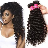 Buy cheap 11A Human Hair Brazilian Virgin Human Hair Extensions ,  Jet Black 28 Inch Hair Extensions from wholesalers