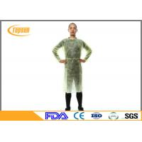 Buy cheap Sterile Disposable Surgical Gowns , SMS Disposable Hospital Gowns With Knitted Cuff from wholesalers