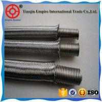 Buy cheap 2 inch high temperature resistant stainless steel wire mesh cover corrugated Metal tube from wholesalers