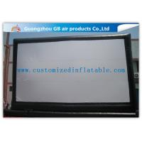 Buy cheap Giant Outdoor Inflatable Movie Screen Rental , Portable Inflatable Projection Screen from wholesalers