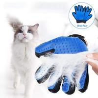Buy cheap Pet Silicone Grooming Glove , Washable And Waterproof Dog Grooming Mitt from wholesalers