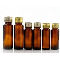 Buy cheap Oral Liquid Syrup Pharmaceutical Medical Round Amber Glass Bottle With Lid product