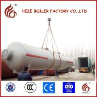 Buy cheap Silver Color 12mm thickness carbon steel plate 30m3 LPG Tank Made in China from wholesalers