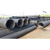 Buy cheap good quality low price PE HDPE large diameter hollow wall winding pipe production line from wholesalers