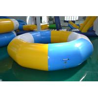 Buy cheap Resilient giant inflatable water trampoline for pool or beach from wholesalers