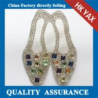 Buy cheap good quality shoes rhinestones patch ;  rhinestones patches for bags;hotfix rhinestone patch from wholesalers