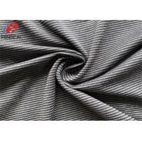 Buy cheap Yarn Dyed Stripe Weft Knitted Fabric Polyester Spandex Lycra Fabric For Jersey from wholesalers