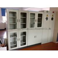 Buy cheap 1.0mm Galvanized Steel Fire Resistant Storage Cabinets For Biology Reagent Sample from wholesalers