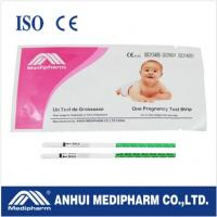 Buy cheap CE ISO certified HCG Pregnancy Test Strip from wholesalers