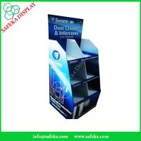 Buy cheap 6 pockets Paper material shelf cardboard point of sale supermarket chimes and intercoms from wholesalers