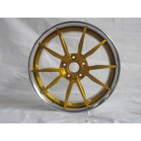 Buy cheap BFL25/3 piece forged wheels for maserati/Anodized Gold wheels/The design for MHT niche from wholesalers