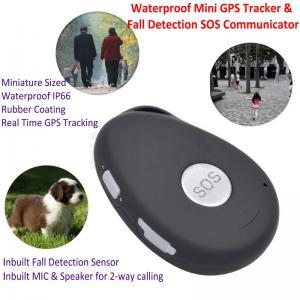 Buy cheap Mini Waterproof 3G GSM Personal GPS Tracker Locator Elderly Fall Detection SOS Communicator Alzheimer Keyring EV07 product
