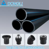 Buy cheap PN 0.6-1.6Mpa HDPE Reinforced Polyethylene water pipe HDPE pipe prices from wholesalers