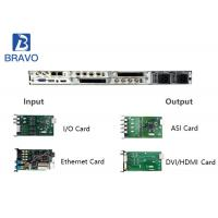 Buy cheap Professional Head End Integrated Receiver Decoder HD Demodulation MPEG - 2 product