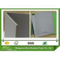 Buy cheap Uncoated Stiffness Laminated Grey Chipboard 0.49mm - 4.00mm For Boxes Making from wholesalers