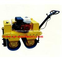 Buy cheap Walk Behind Double Drum Hydraulic Vibratory Road Roller of Construction Machinery from wholesalers