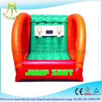 Buy cheap Hansel Interesting basketball sports game,inflatable basketball game from wholesalers