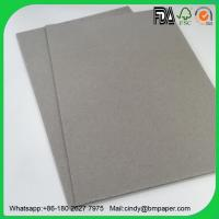 Buy cheap Book binding board 1mm 2mm 3mm thick grey paper board from wholesalers