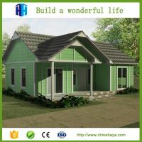 Buy cheap Superior quality prefab luxury best design vacation villa architectural design from wholesalers