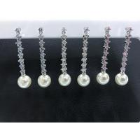 Buy cheap Fashion and elegent  925 sterling silver pearl earrings for girls from wholesalers