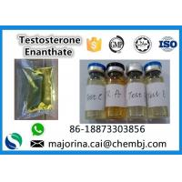 Buy cheap Testosterone Enanthate / Test E Injectable Muscle Building Steroid White Crystalline Powder from wholesalers