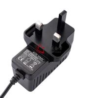 Buy cheap 24W 12V1.5A 24V1A  AC Power Adaptor With UK Plug , GS CE CB Approval , Level VI from wholesalers