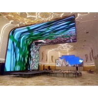 Buy cheap Flexible Full Color Small Pixel SMD2121 P3.91 Curved LED Screen from wholesalers