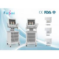 Buy cheap derma wand non-surgical face lift equipment chin lift hifu machine self- made steady auto-locked power supply from wholesalers