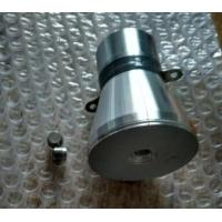 Submersible High Power Ultrasonic Transducer , Ultrasonic Cleaner Transducer Long Life