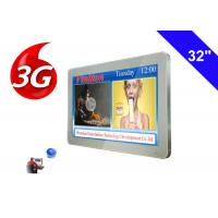 Buy cheap 3g wireless Bus LCD Advertising Display TV Commercial Digital Signage media player from wholesalers