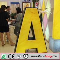 Buy cheap Anti-wind strong sound thin vacuum hotsale alphabet letter led signage,flexible parts from wholesalers