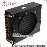 Buy cheap Refrigeration Air Cooler Copper Tube Condenser from wholesalers