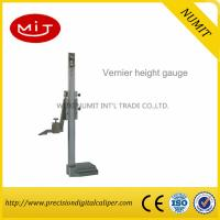 Buy cheap Precision Stainless Steel Dial height gauge/ Digital Height Caliper Gauge With Fine Adjustment from wholesalers