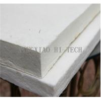 Buy cheap High Temperature Heat Insulation Ceramic Fiber Board For Wood Stove 10 - 50mm Thick from wholesalers