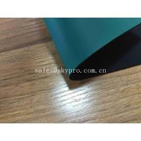 Buy cheap Fireproof Antistatic Rubber Sheet 2mm Green Rubber Garage Floor Mat 1.4-1.7 G/Cm3 Density from wholesalers