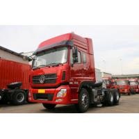 Buy cheap 10 Wheels Heavy Duty Tractor Trailer , Dongfeng 375HP Tractor Head Truck from wholesalers