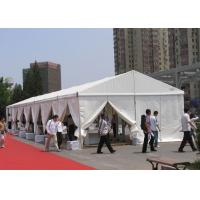Buy cheap White 6m x 30m Fabric Small Clear Span Tent For Exhibition / Display from wholesalers